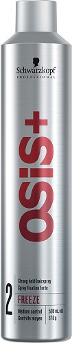 Schwarzkopf OSIS+ Freeze strong hold hairspray 500 ml