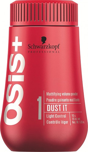 Schwarzkopf Osis+ Creatives Dust It Mattifying Powder 10 g - Verleiht feinem Haar mehr Volumen am Haaransatz, Nr. 2080276