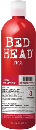 TIGI Urban Antidotes Resurrection Conditioner 750 ml - Perfekt für kraftloses, brüchiges Haar  Nr. 330212