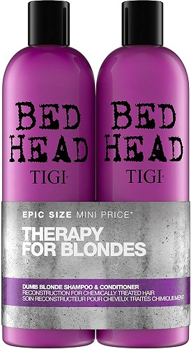 TIGI Bed Head Dumb Blonde Tween Duo - 2x750 ml (Shampoo 750 ml + Conditioner 750 ml)  Nr. 812802