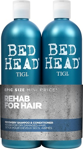 TIGI Bed Head Recovery Tween Duo - 2x750 ml (Shampoo 750 ml + Conditioner 750 ml)  Nr. 812797