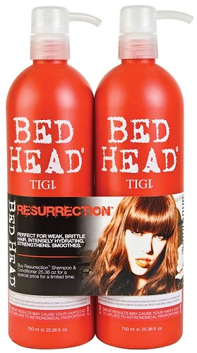 TiGi Urban Antidotes Resurrection Tween Duo - 2x750 ml (Shampoo 750 ml + Conditioner 750 ml)