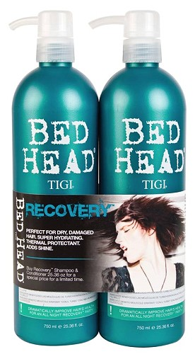 TiGi Urban Antidotes Recovery Tween Duo - 2x750 ml (Shampoo 750 ml + Conditioner 750 ml)