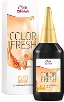 Wella Color Fresh 4/0 mittelbraun 75 ml ph 6.5 Acid
