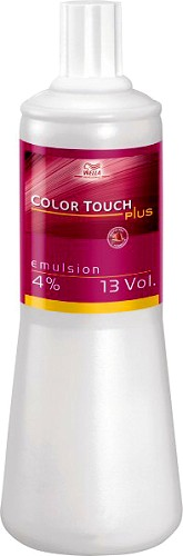 Wella Color Touch Plus Emulsion 4% 1000 ml - Nr. 2350718