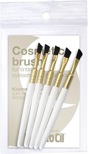 RefectoCil Kosmetik Bürstchen hart - 5er Set  Nr. 3080184