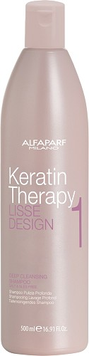 Alfaparf Lisse Design Keratin Therapy Deep Cleansing Shampoo 500 ml