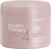 Alfaparf Milano Keratin Therapy Lisse Design Rehydrating Mask 500 g
